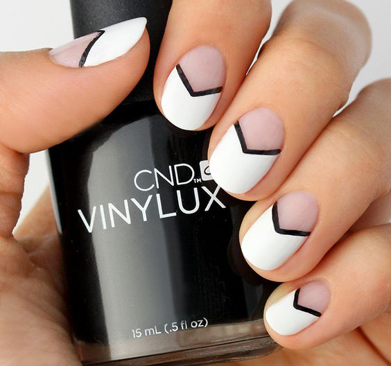 ที่มา : http://blog.lulus.com/beauty/mani-monday-black-and-white-chevron-nail-tutorial/?utm_source=facebook&utm_medium=blogcontent&utm_content=manimondayblackwhitechevron&utm_campaign=socialmedia